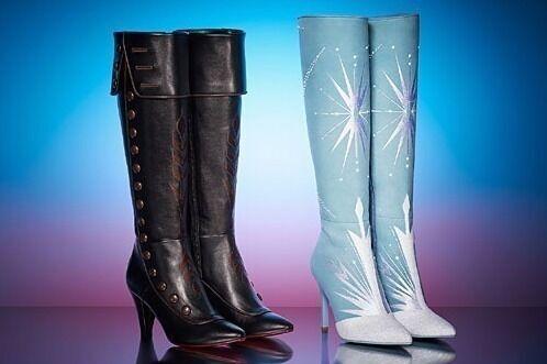 """ダイアナ『アナと雪の女王2』シューズ""""アナ&エルサ""""のロングブーツをリアルに再現した限定モデルも"""