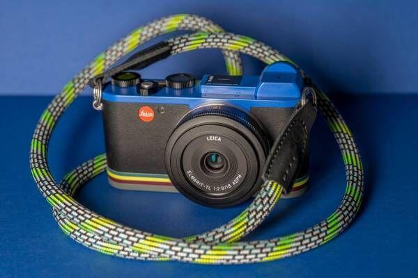 ポール・スミス×ライカ限定デジタルカメラ、アイコニックなストライプをアクセントに