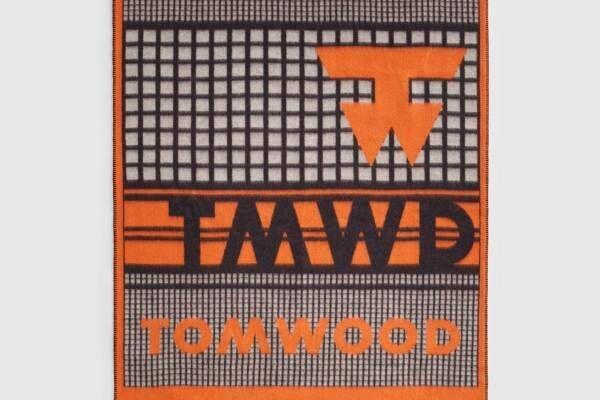 トムウッドのブランケット、ブランドロゴで描いた千鳥格子風の柄や遺跡モチーフのデザインなど全6種