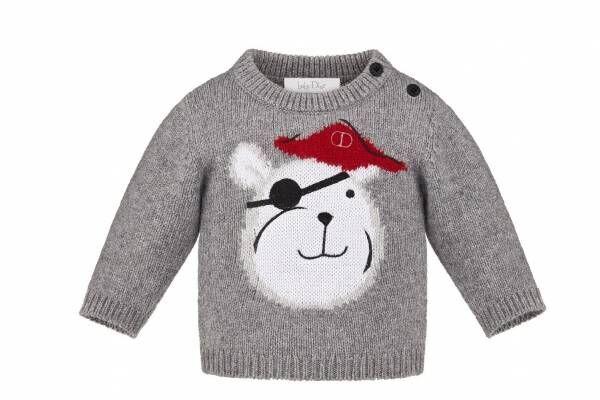 ベビー ディオール『ピーターパン』着想のキッズウェア、海賊モチーフのTシャツやセーターなど