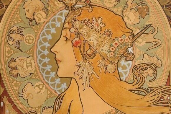 """「ミュシャ展」横浜・そごう美術館で、画業に影響を与えた""""運命の女たち""""テーマに約150点を展示"""