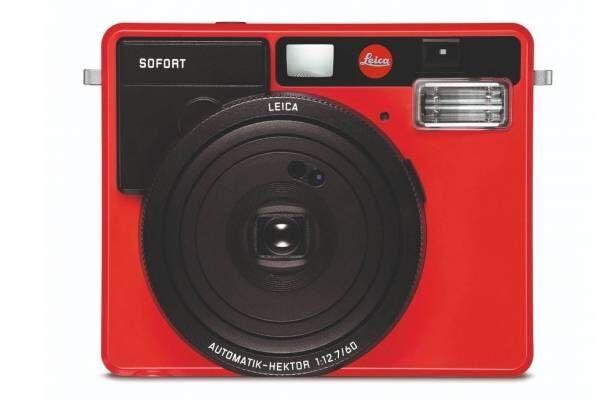 ライカのインスタントカメラ「ライカ ゾフォート」に新色レッド、クリエイティブな写真を手軽に撮影