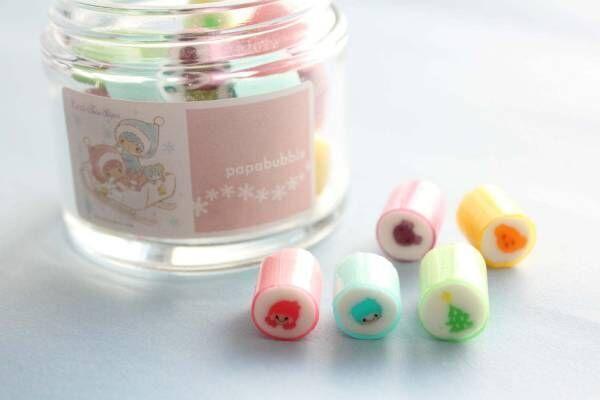 サンリオ「キキ&ララ」×パパブブレ - イラスト入りキャンディー新宿で発売、限定チャーム配布も