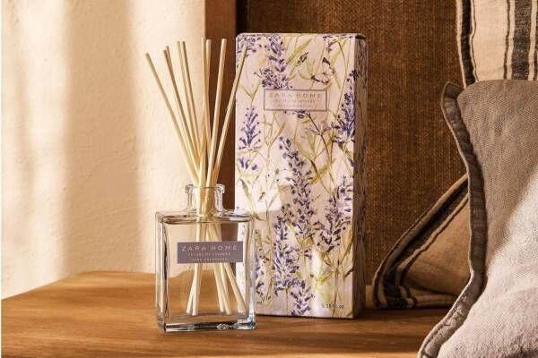 ZARA HOME「ローズ・ラベンダー」香りの新ルームフレグランス、ディフューザー&キャンドルで