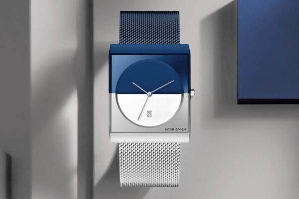 ヤコブ イェンセンの腕時計「クラシックシリーズ」新作、ネイビー×シルバーの2トーンで