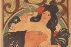 展覧会「ミュシャと日本、日本とオルリク めぐるジャポニスム」静岡で、東西の芸術交流を探る