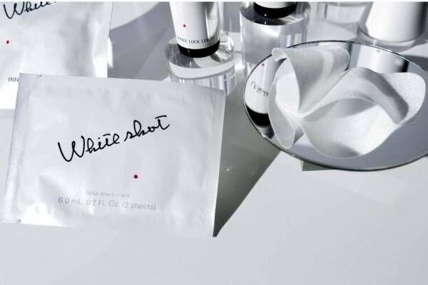 ポーラ「ホワイトショット」の美白シートマスク新発売、優れた即効性&輝くクリアな肌に