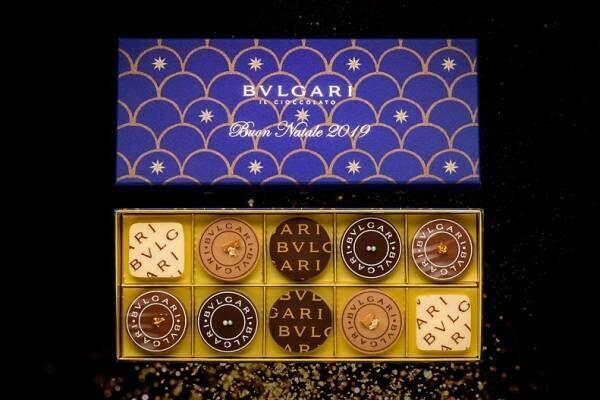 ブルガリ イル・チョコラートより「ナターレ・ボックス」クリスマスを祝う華やかなショコラセット