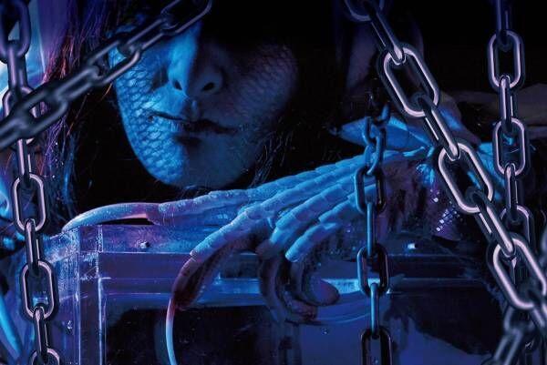 """サンシャイン水族館の「ホラー水族館」第4弾、海の妖女""""セイレーン""""による新たな恐怖体験"""