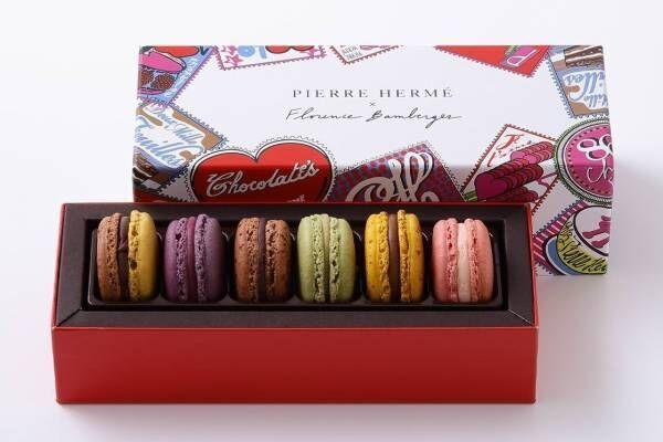 ピエール・エルメ・パリのバレンタイン2020限定ショコラ&マカロン、真っ赤なハート型パティスリーも