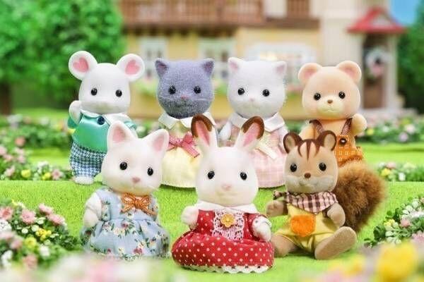 「シルバニアファミリー展」小田急百貨店新宿店で、人形など1,000点以上を展示&限定グッズも