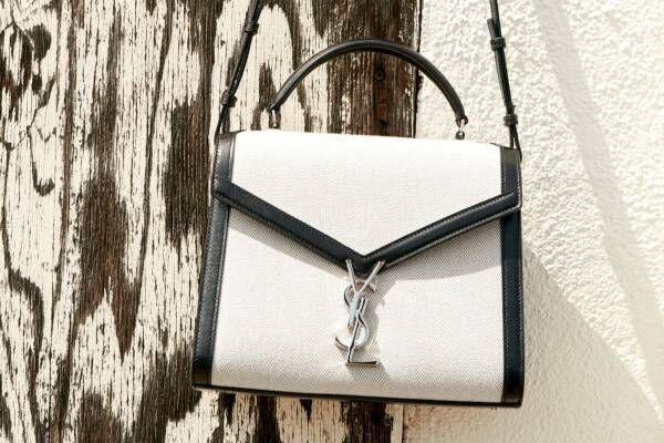 サンローランのバッグ「ベイビー・カサンドラ」からキャンバス&レザーの新色、伊勢丹新宿店で先行販売
