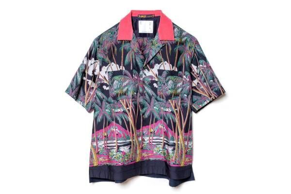 "sacai""ヴィンテージアロハ柄""のMA-1やドレス、日本発サンサーフとコラボ"
