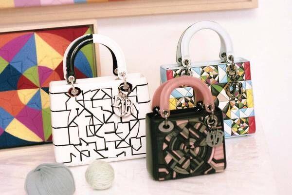 ディオールのバッグ「レディ ディオール」名和晃平ら世界中のアーティスト11人とのコラボモデル