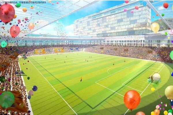 「長崎スタジアムシティ」長崎市幸町にV・ファーレン長崎の本拠地を核とする街づくり、商業施設やホテルも