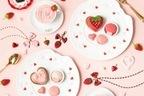 """Q-pot CAFE.""""苺づくし""""のバレンタインスイーツ、""""ハート""""のパフェやショコラプレート"""