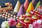 都ホテル 京都八条、はいからスイーツブッフェ「いちごとあんこ」餡を使った多様な苺スイーツ