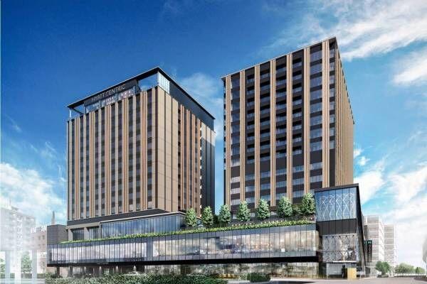 「クロスゲート金沢」ハイアットブランドホテル&商業施設含む、金沢駅西口の複合施設