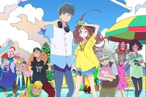 アニメ映画『サイダーのように言葉が湧き上がる』市川染五郎×杉咲花、少年少女の青春ストーリー