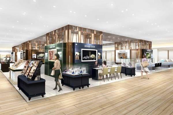 阪急うめだ本店のリニューアル - 新ビューティエリア誕生、ジュエリー&ウォッチの品揃え大幅拡大