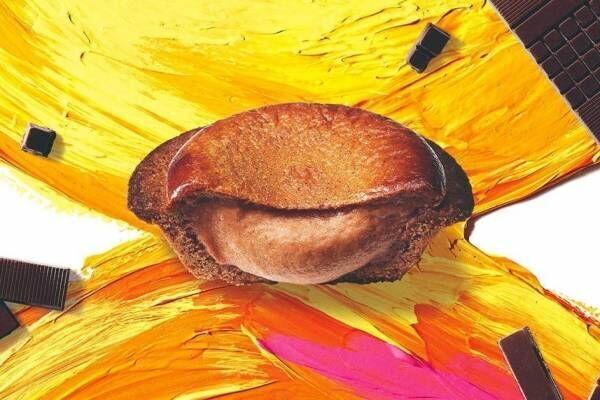 ベイク×ミニマル、バレンタイン限定の「焼きたてチョコレートチーズタルト」2種のチョコレートをミックス