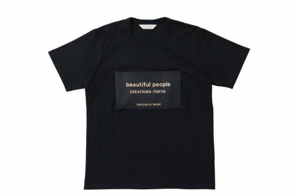 """ビューティフルピープル""""ブラックタグ""""の限定Tシャツ&トートバッグ、銀座三越で発売"""