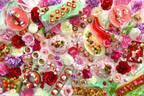 """びわ湖大津プリンスホテルのストロベリーブッフェ、""""苺×花""""の華やかスイーツ約35種"""