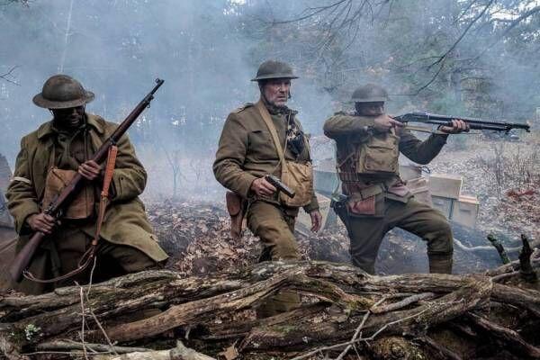 映画『グレート・ウォー』第一次世界大戦下、敵地に残された黒人兵士の救出劇を描く