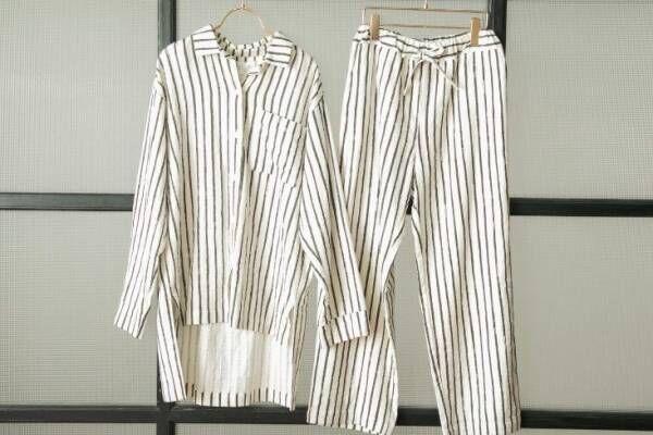 ジェラート ピケ×ジョエル・ロブションのルームウェア、やわらかなガーゼシャツやシルク混カーディガン