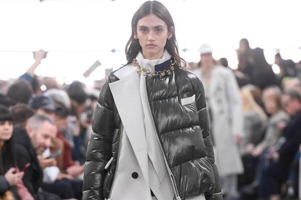 sacai 2020年プレフォールコレクション -  パンツスーツから組み立てた女性服とは?