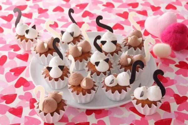 """""""猫スイーツ""""食べ放題の「スイーツパラにゃんス!」全国スイパラで、肉球柄ケーキ&しっぽ付きゼリー"""
