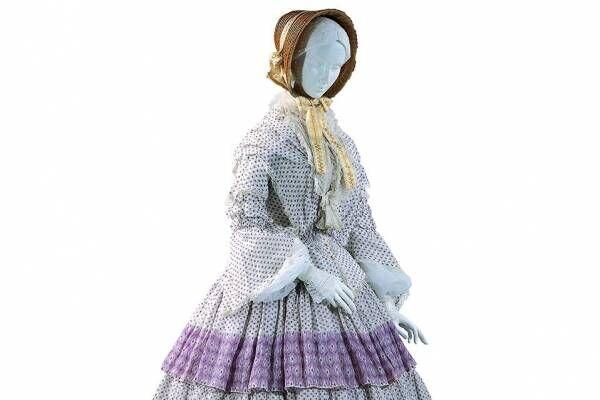 文化学園服飾博物館「ヨーロピアン・モード」展、バレンシアガのドレスなど女性モード服の約250年