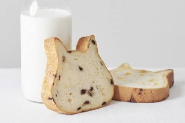"""""""猫型""""高級食パン「ねこねこ食パン」マークイズ福岡ももちに、牛乳だけで仕込んだミルキーな味わい"""