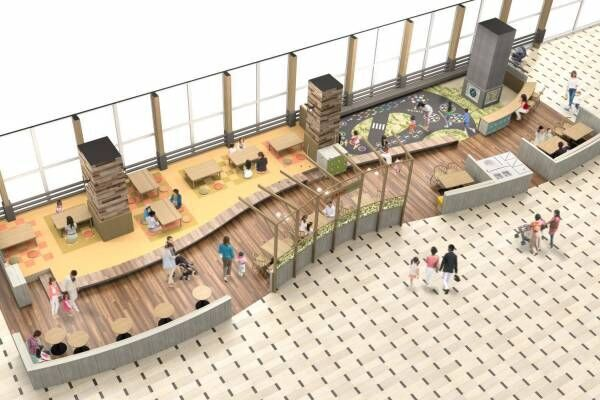 ららぽーと和泉が初リニューアル - レストラン&フードコートが充実、大阪初含む39店舗出店