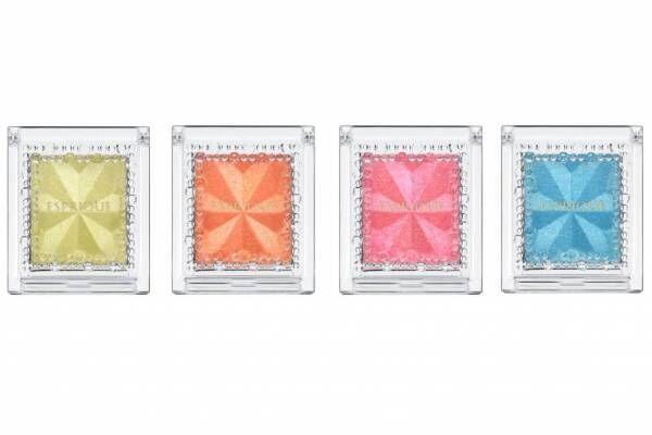 """エスプリーク""""ダイヤモンド生まれ""""のアイカラーに""""満開に咲く花々""""のような限定色"""