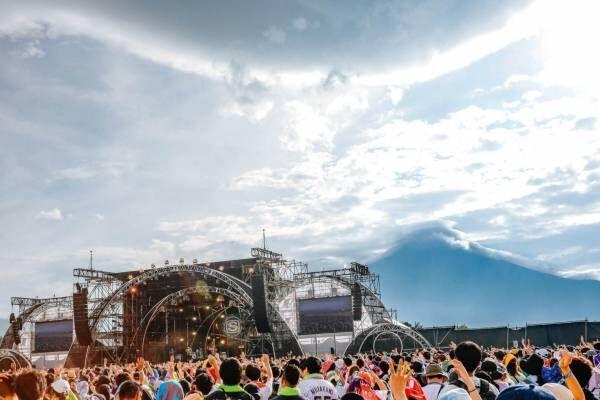 野外音楽フェス「スウィート ラブ シャワー2020」山梨・山中湖で開催、富士山の絶景と楽しむ音楽