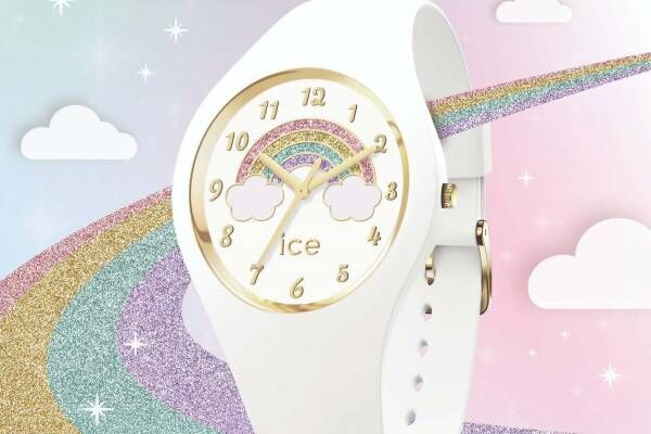 アイスウォッチ、グリッターの虹が輝く新作腕時計「アイス ファンタジア」登場