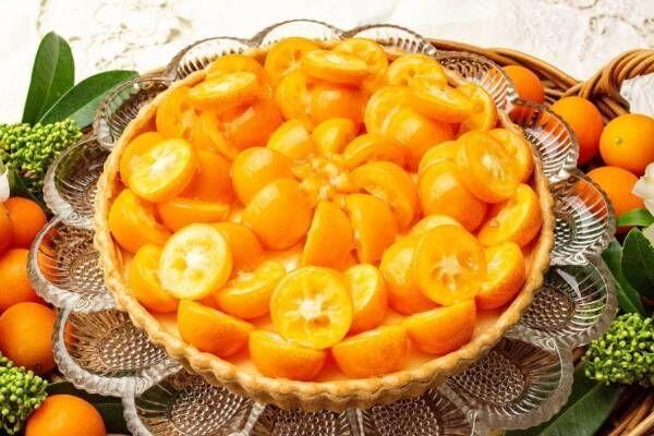 キル フェ ボン宮崎県産完熟金柑のタルト、2色の苺を使ったホワイトデー向けタルトも限定発売