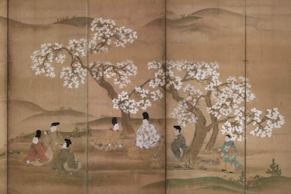 展覧会「博物館でお花見を」東京国立博物館で - 桜を描いた絵画や工芸品など、庭園の桜ライトアップも
