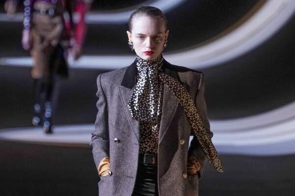サンローラン 2020年秋冬コレクション - カラフルな色彩に交わるブラック
