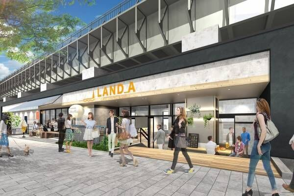 「東京ミズマチ」浅草~東京スカイツリー間、隅田川沿いの高架下商業施設に全14店舗 - 新連絡橋も開通