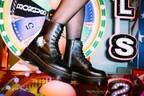 ドクターマーチン×ハローキティ - リボン&ハートを散りばめた厚底ブーツやサンダル、ハート型バッグも