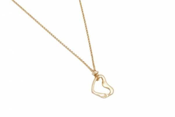 """クロエの新作アクセサリー - 手を繋いで""""ハート""""を表現、華奢なゴールドネックレス&ブレスレット"""