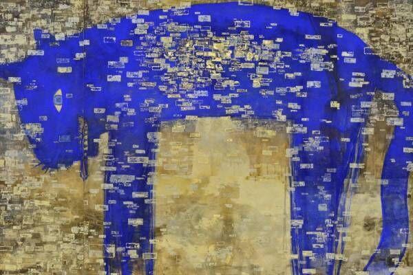 """画家・長沢明の初大規模個展が新潟市美術館で、3mを超える""""トラ""""や""""青いトリ""""の絵画"""