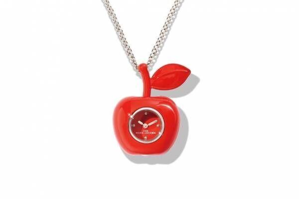 """マーク ジェイコブスの新作時計、真っ赤なアップル型ペンダントウォッチやピンクの""""ドーナツ""""腕時計"""
