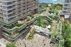 「武蔵小金井シティクロス」JR武蔵小金井駅南口の再開発で、商業施設や緑溢れる広場が誕生