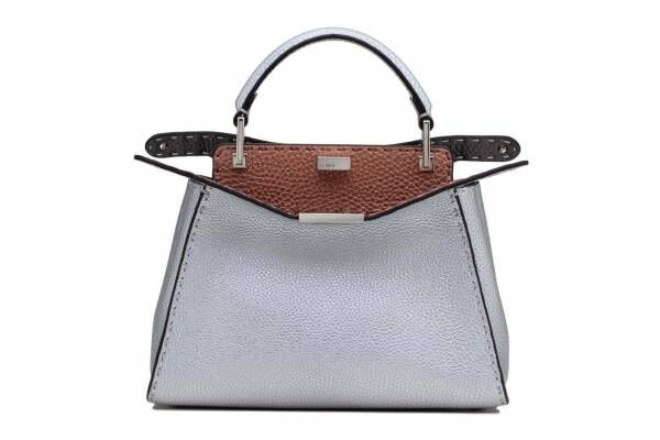 """フェンディのバッグ「セレリア ピーカブー」""""パウダーピンク""""などの銀座店限定モデル"""