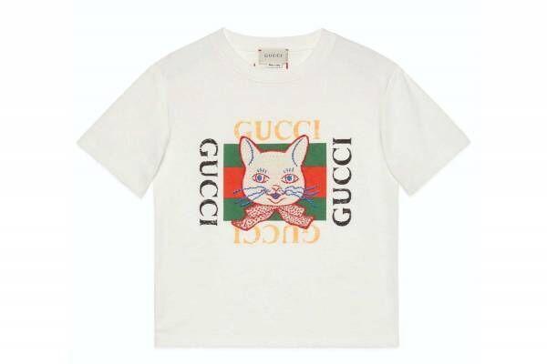 グッチ×ヒグチユウコ、シュールな猫やウサギが彩るキッズ&ベビーウェア - 日本限定アイテムも