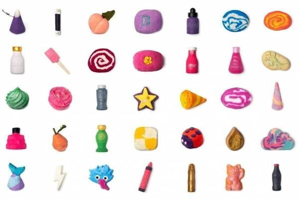 ラッシュ、原宿店限定のバブルバー29種を全国でも発売 - 店舗ごとに異なるラインナップで