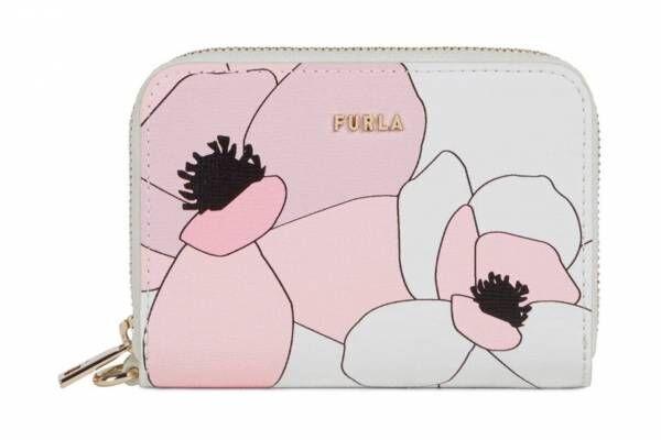 """フルラから""""マグノリア""""の花咲く日本限定バッグ&ウォレット、ピンクの花びらを主役に"""